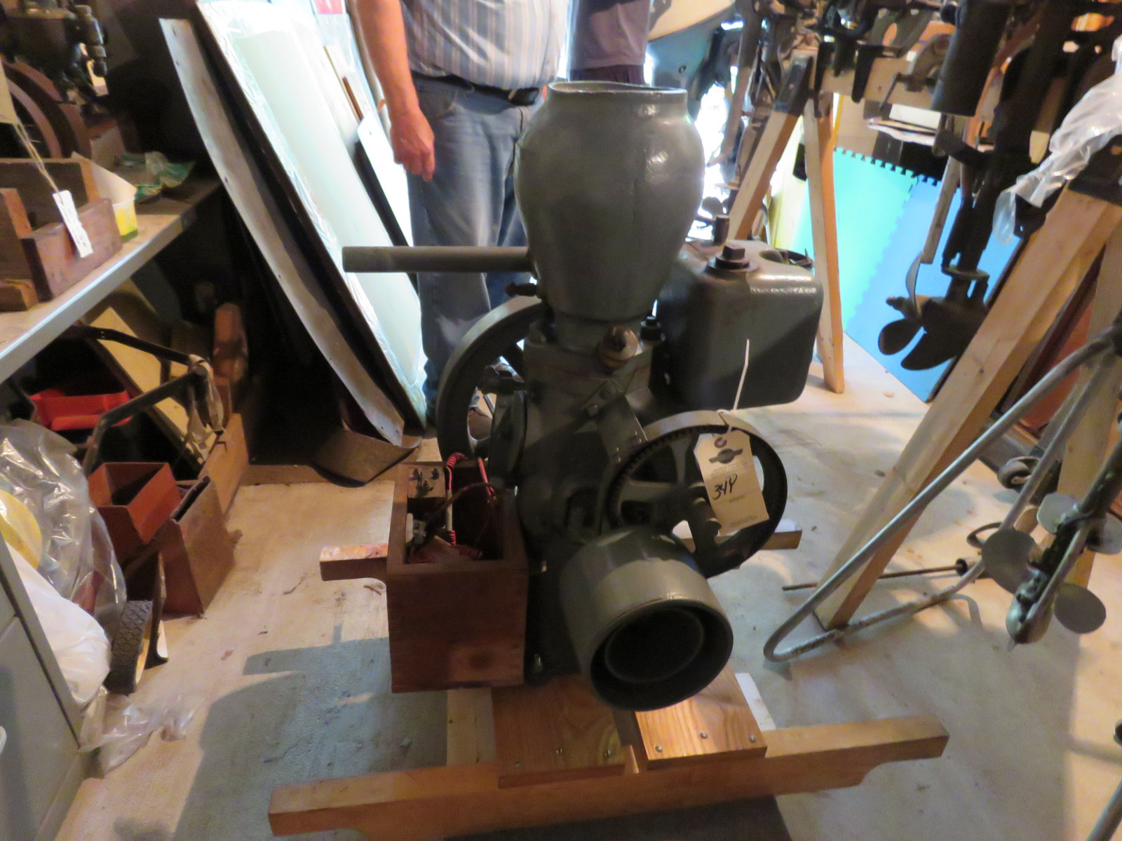 Monitor 1 1/4hp Stationary Gas Engine - Image 1