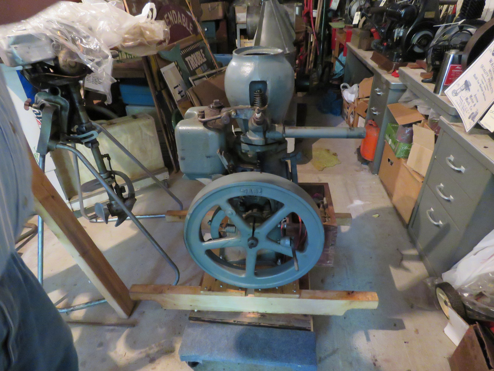 Monitor 1 1/4hp Stationary Gas Engine - Image 3