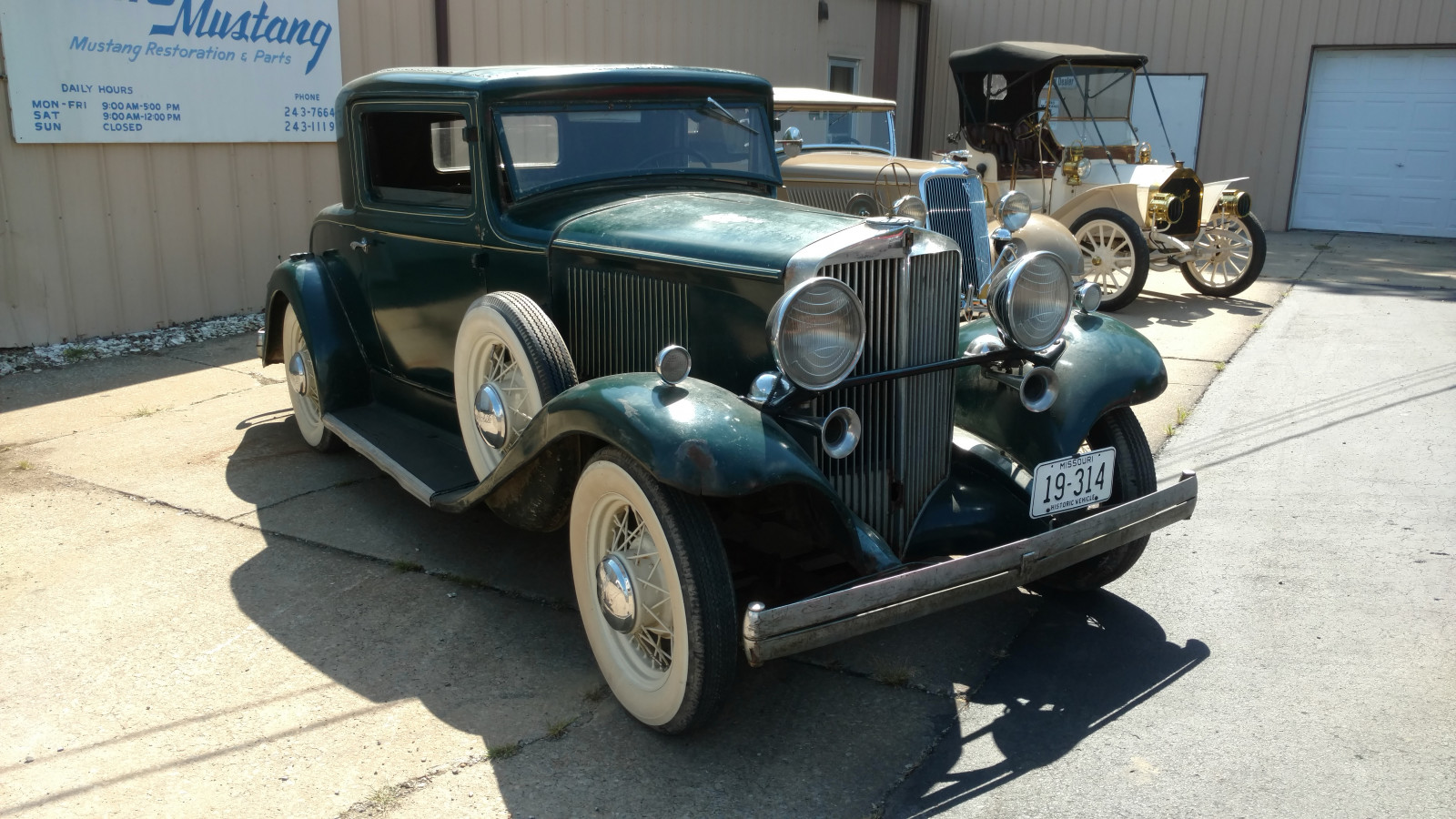 1932 Hupmobile Rumble seat Coupe - Image 3