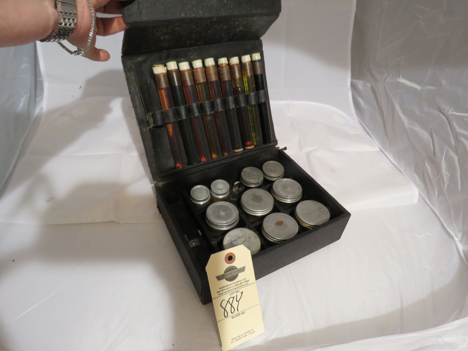 Polarine Oil Company Salesman Sample Kit - Image 1