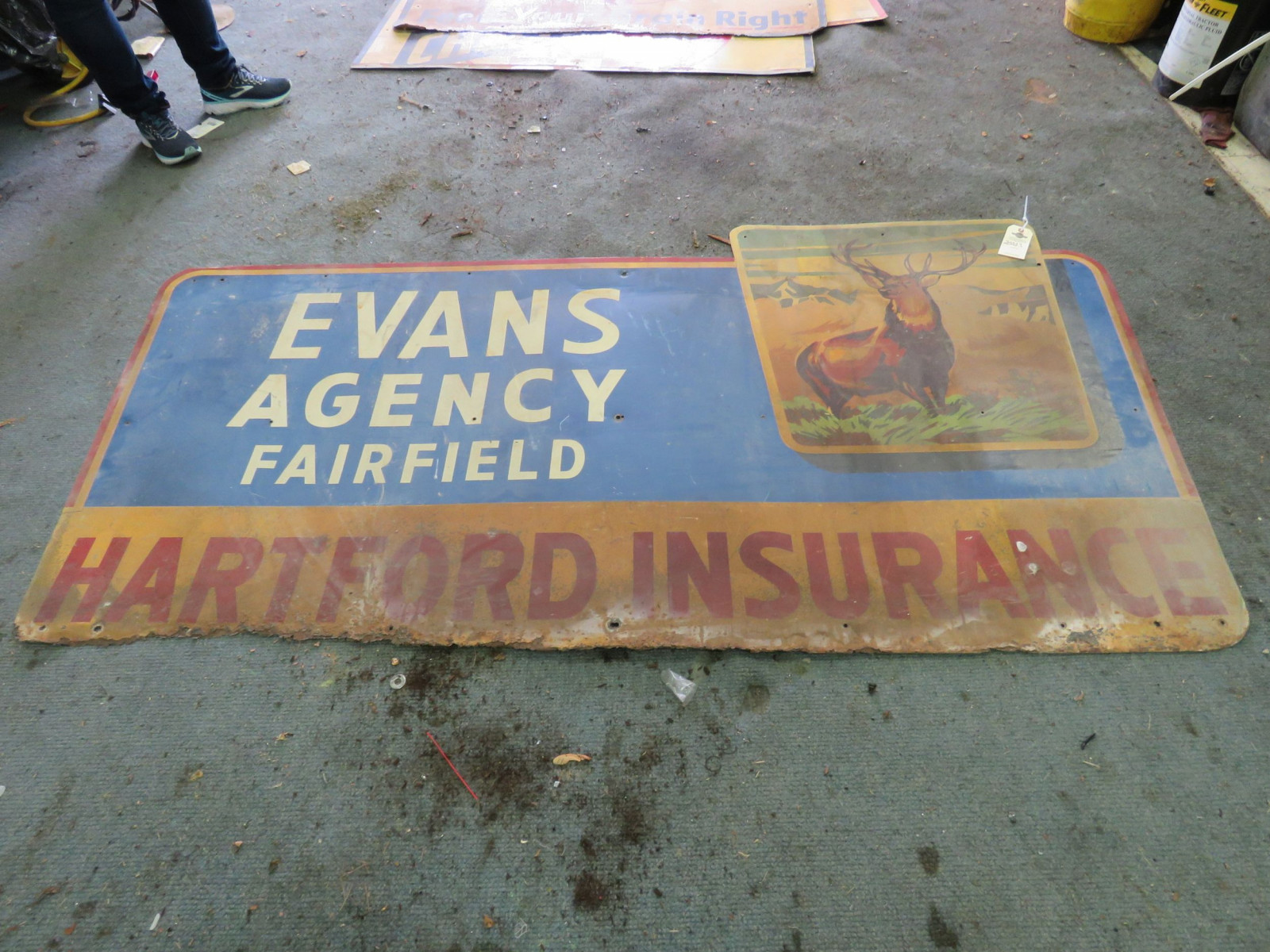 Hartford Insurance Sign - Image 2