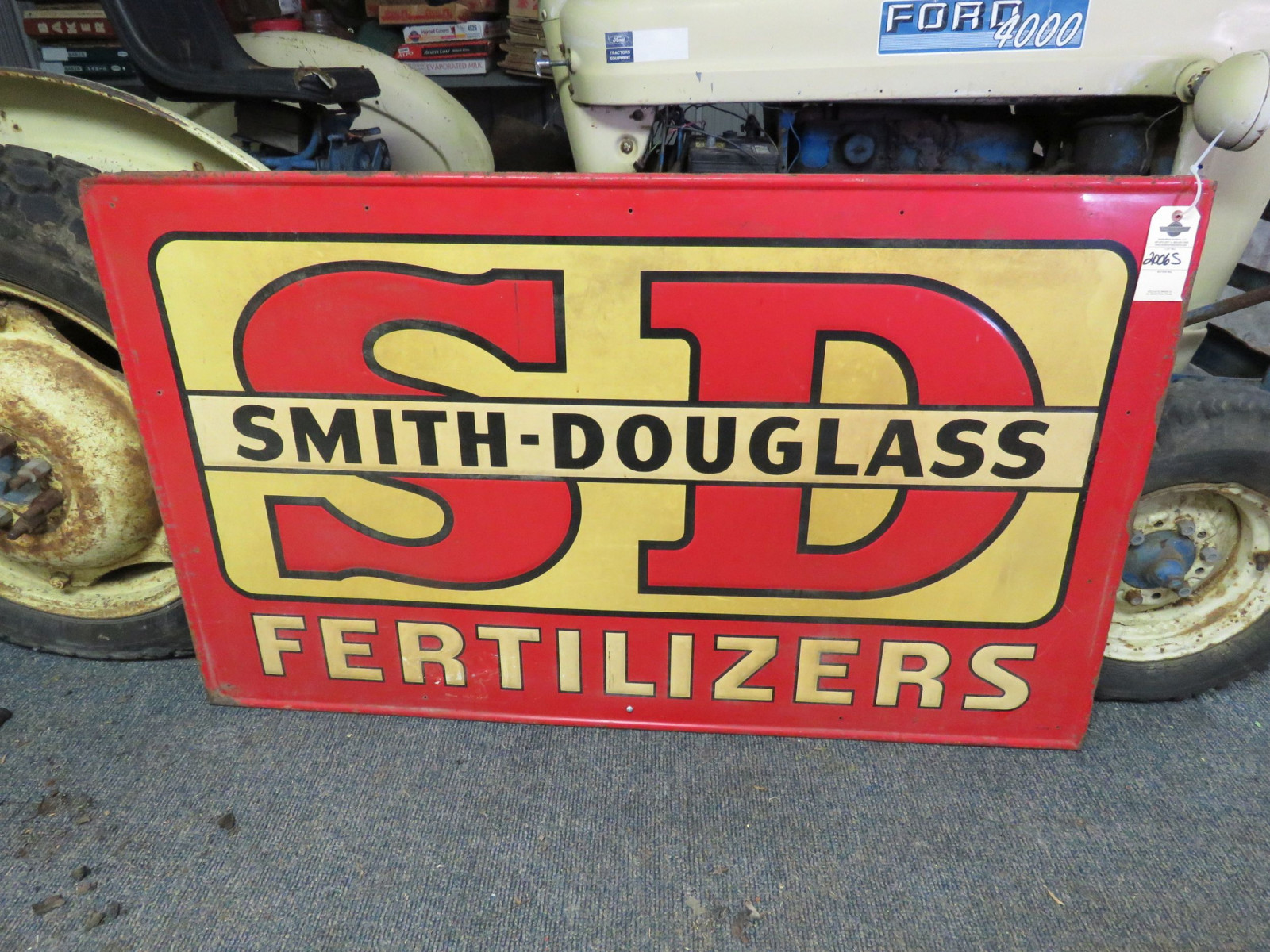 Smith Douglas Painted Tin Sign - Image 1