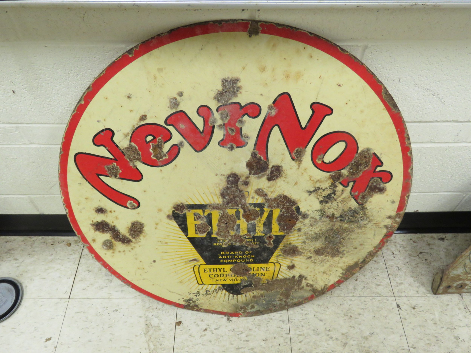 NevrNox Ethyl Porcelain Sign - Image 2