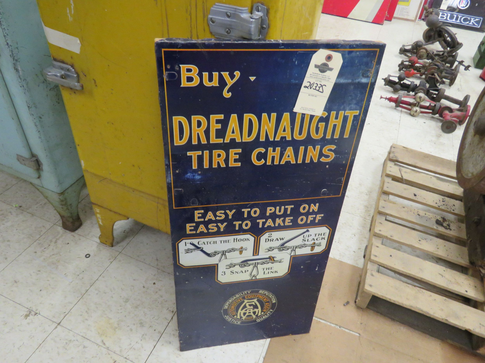 Dread Naught Pressed Board Sign - Image 2
