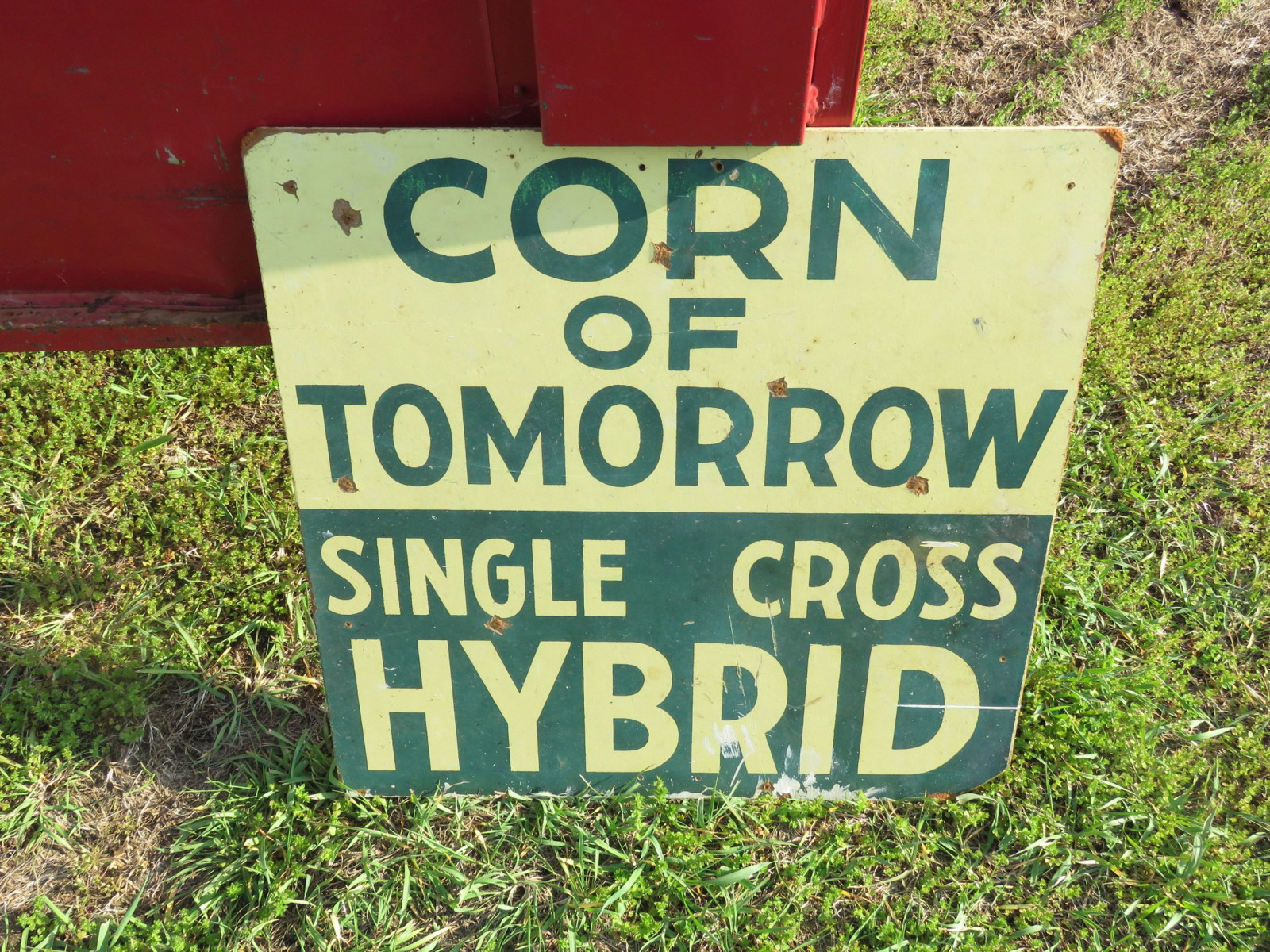 Corn of tomorrow Sign - Image 1