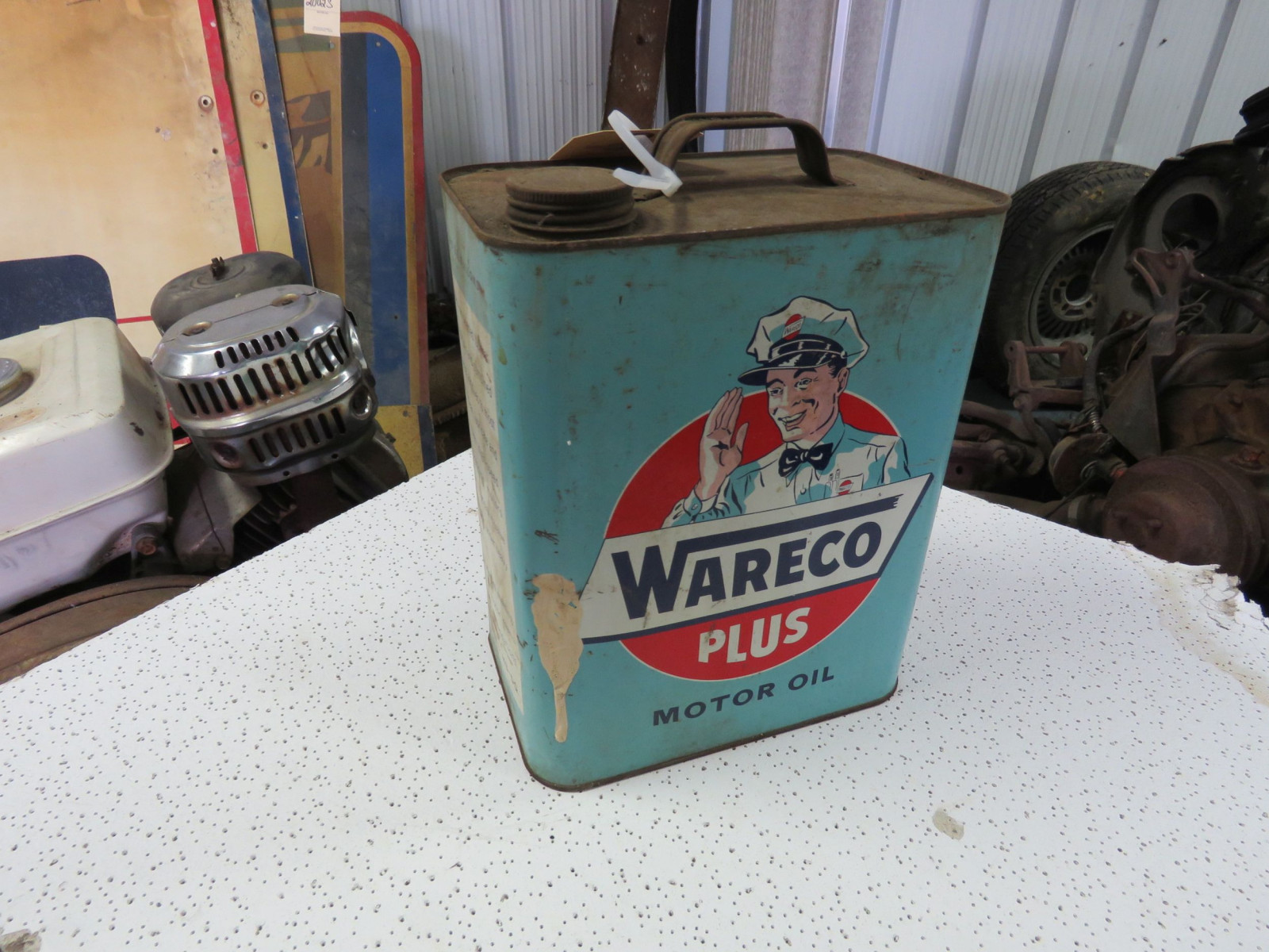 Wareco Plus 1 Gallon Empty Oil Can - Image 2