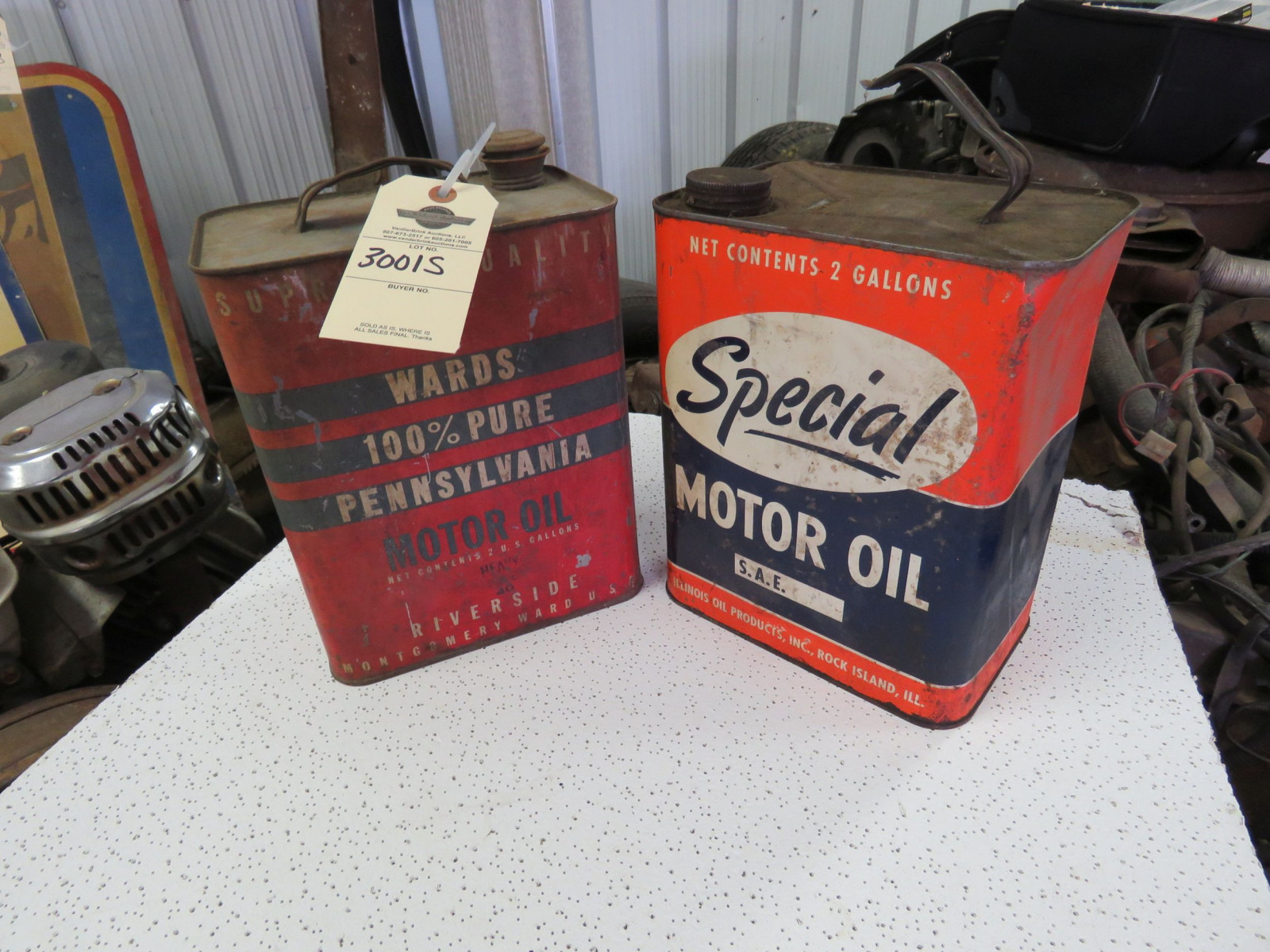 Special & Wards Cans - Image 1