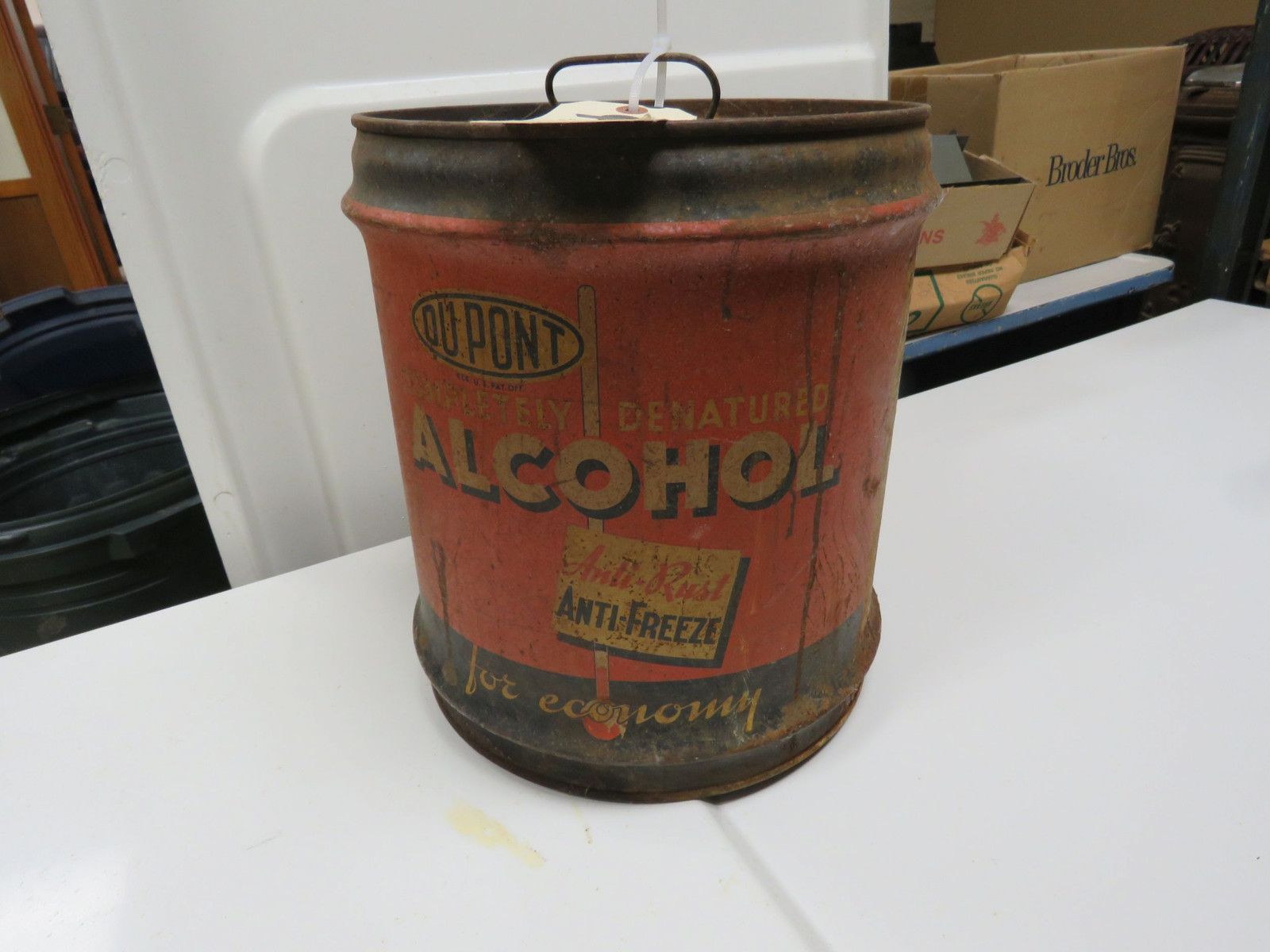 Dupont alcohol 5 Gallon can Empty - Image 1