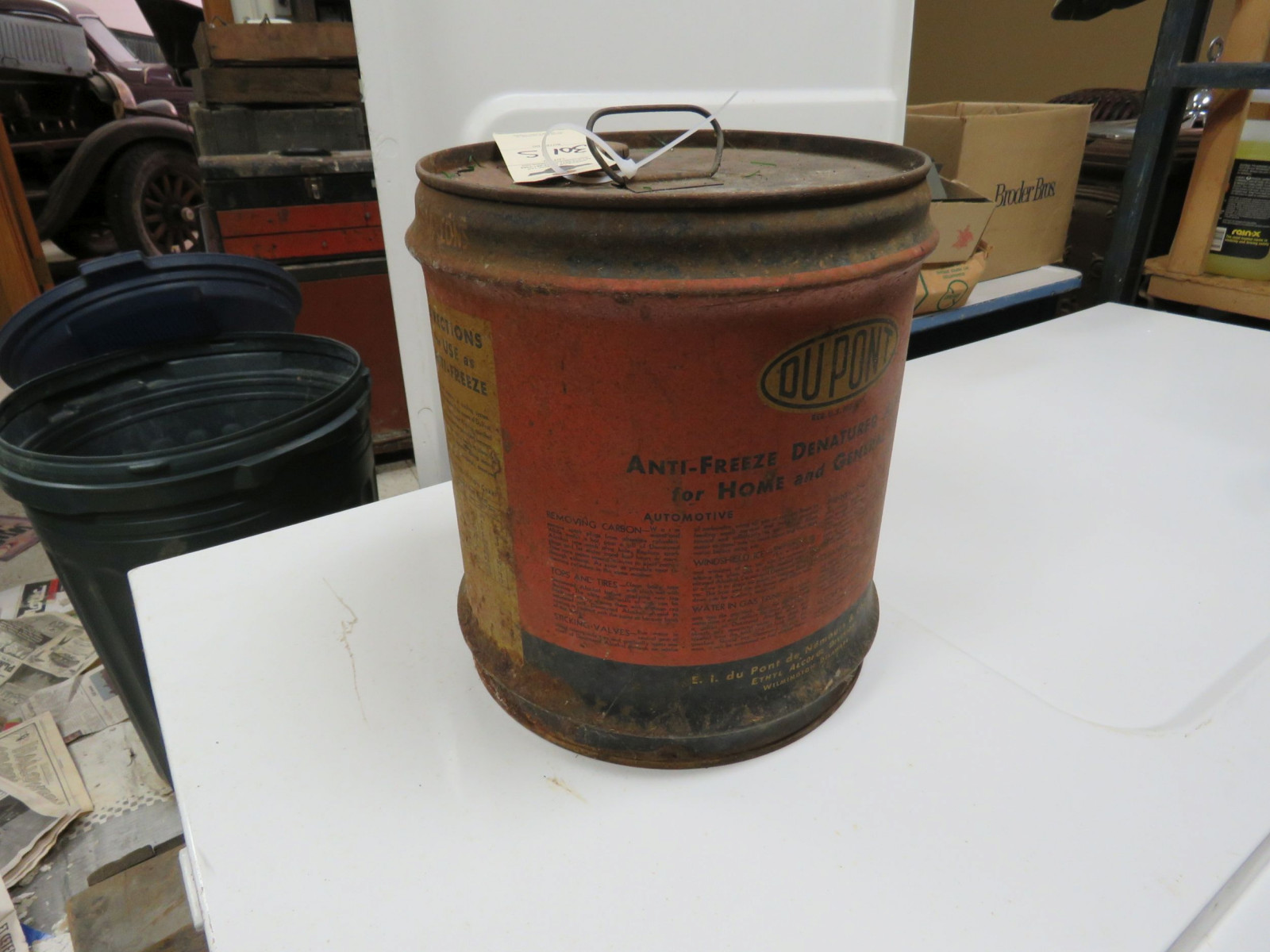 Dupont alcohol 5 Gallon can Empty - Image 3