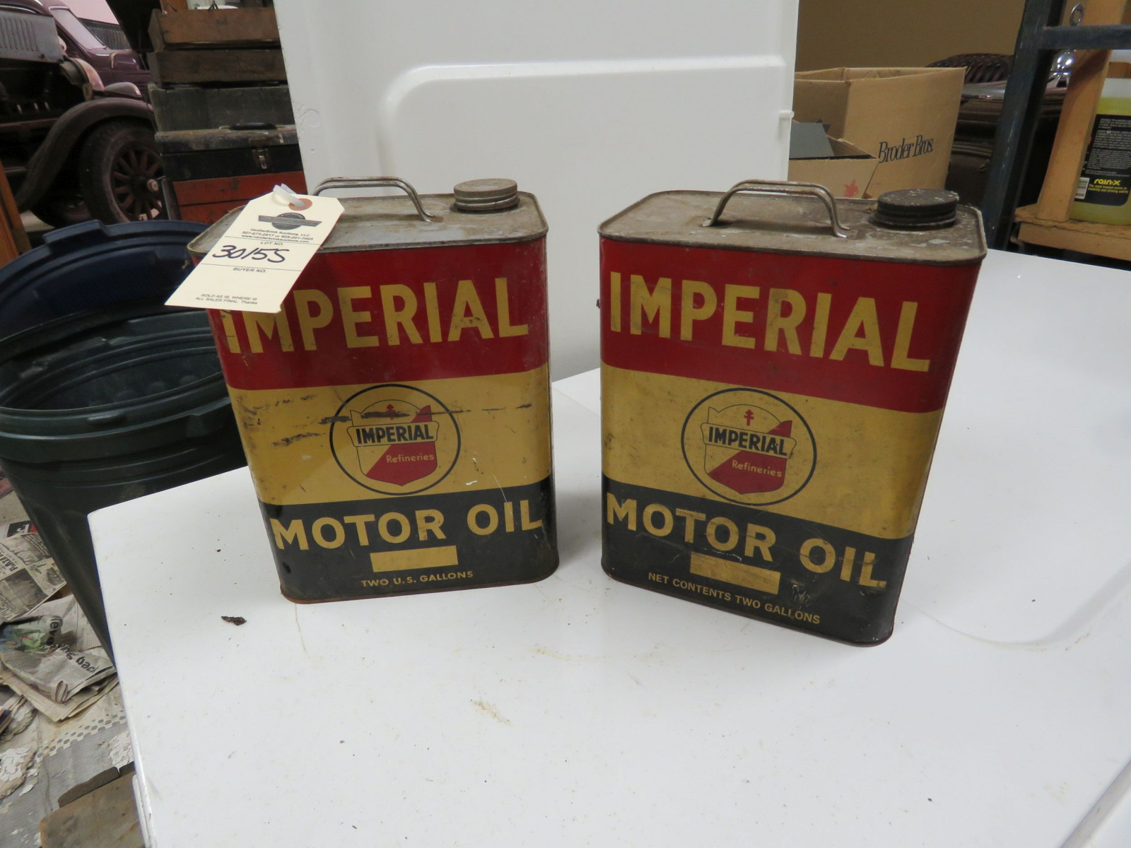 2 Imperial Oil Cans - Image 1