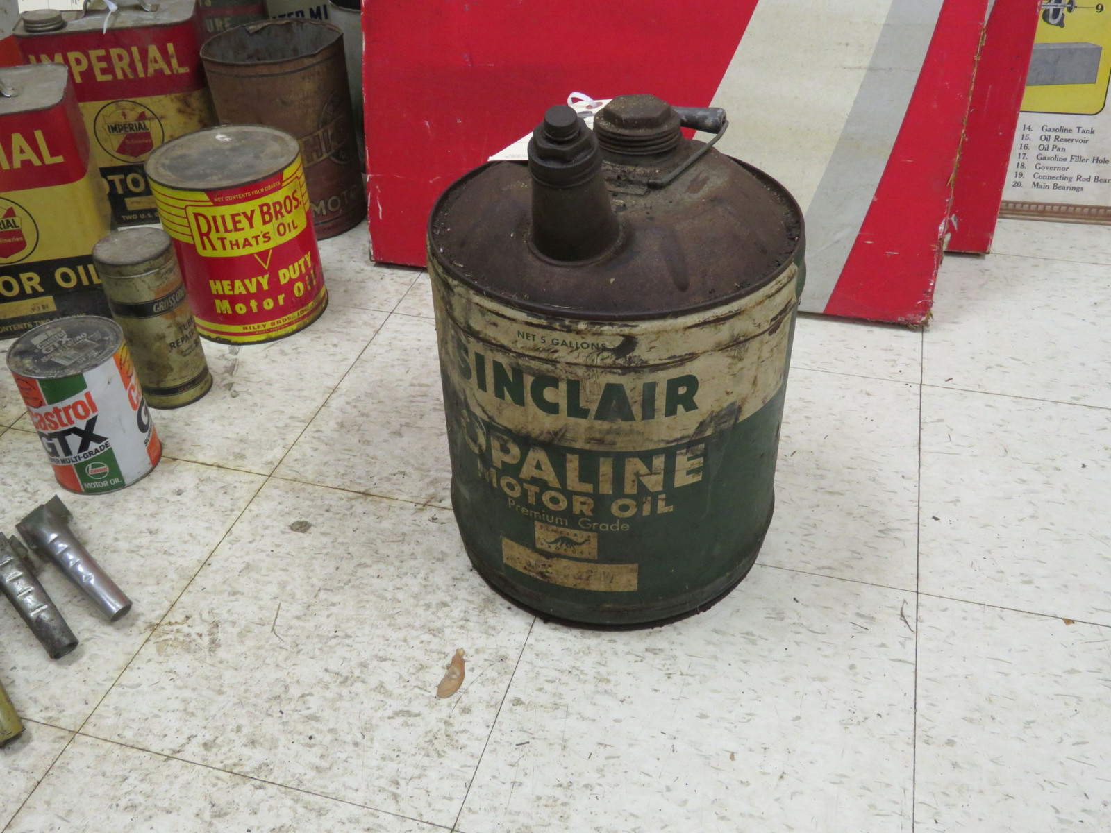 Sinclair 5 Gallon Oil Can - Image 1