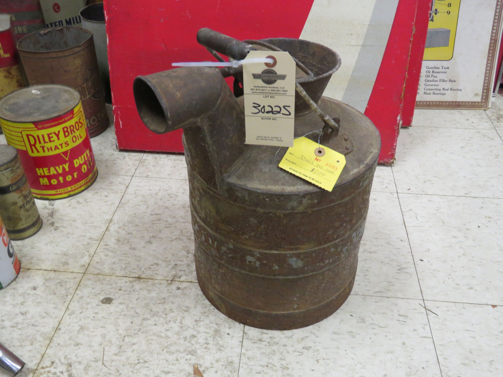Shell Oil Can - Image 1