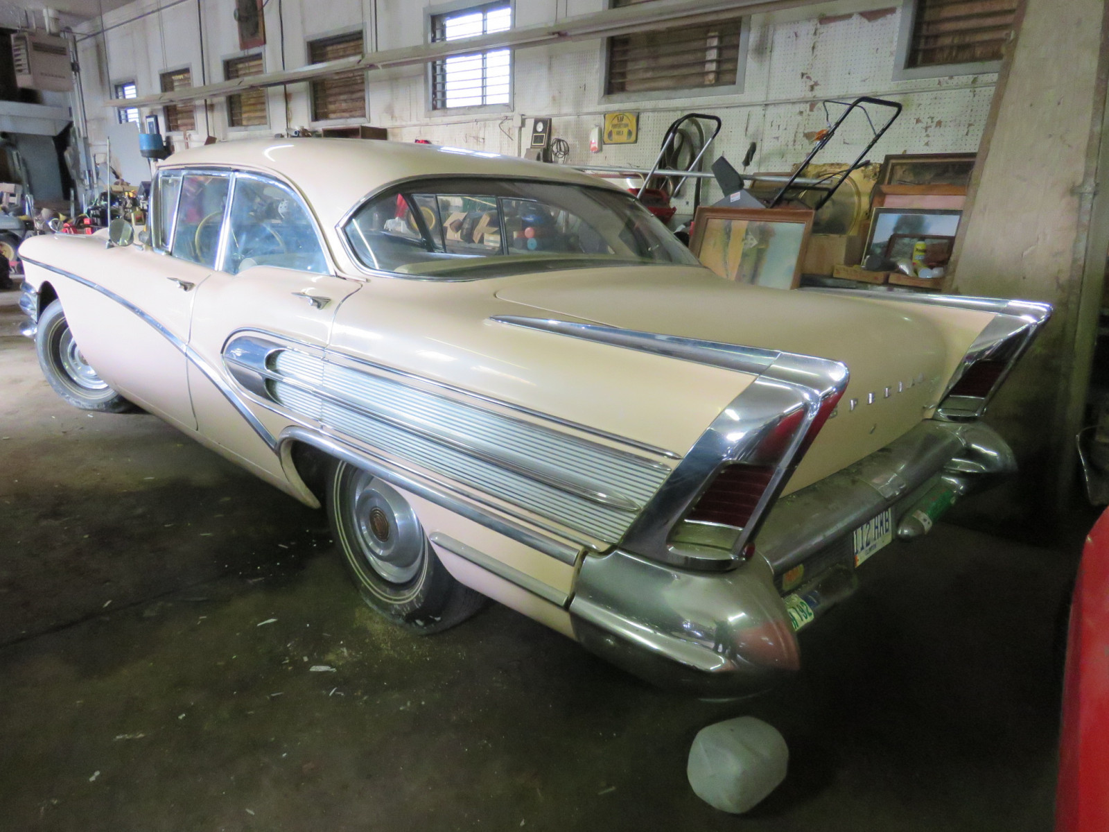 1958 Buick Special 4dr HT - Image 4