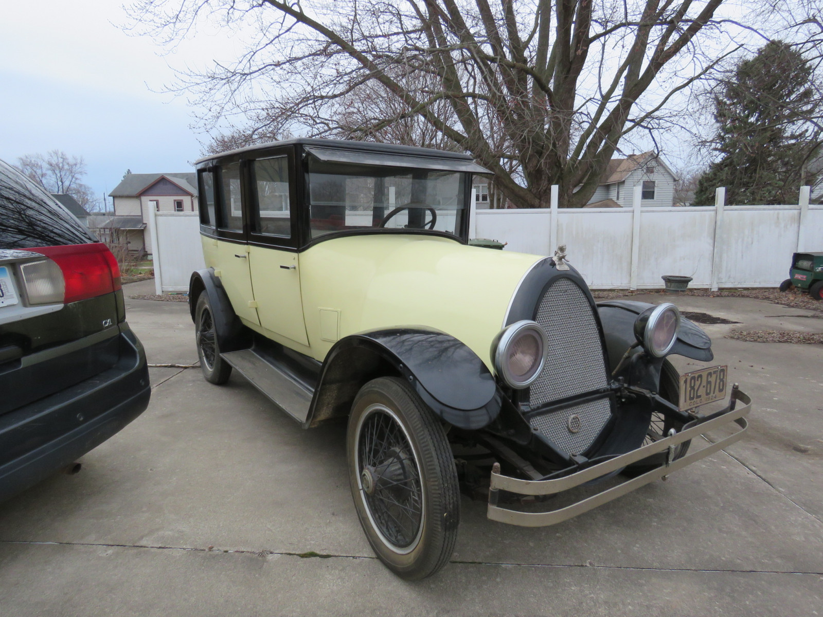 1924 Franklin 4dr Sedan - Image 1