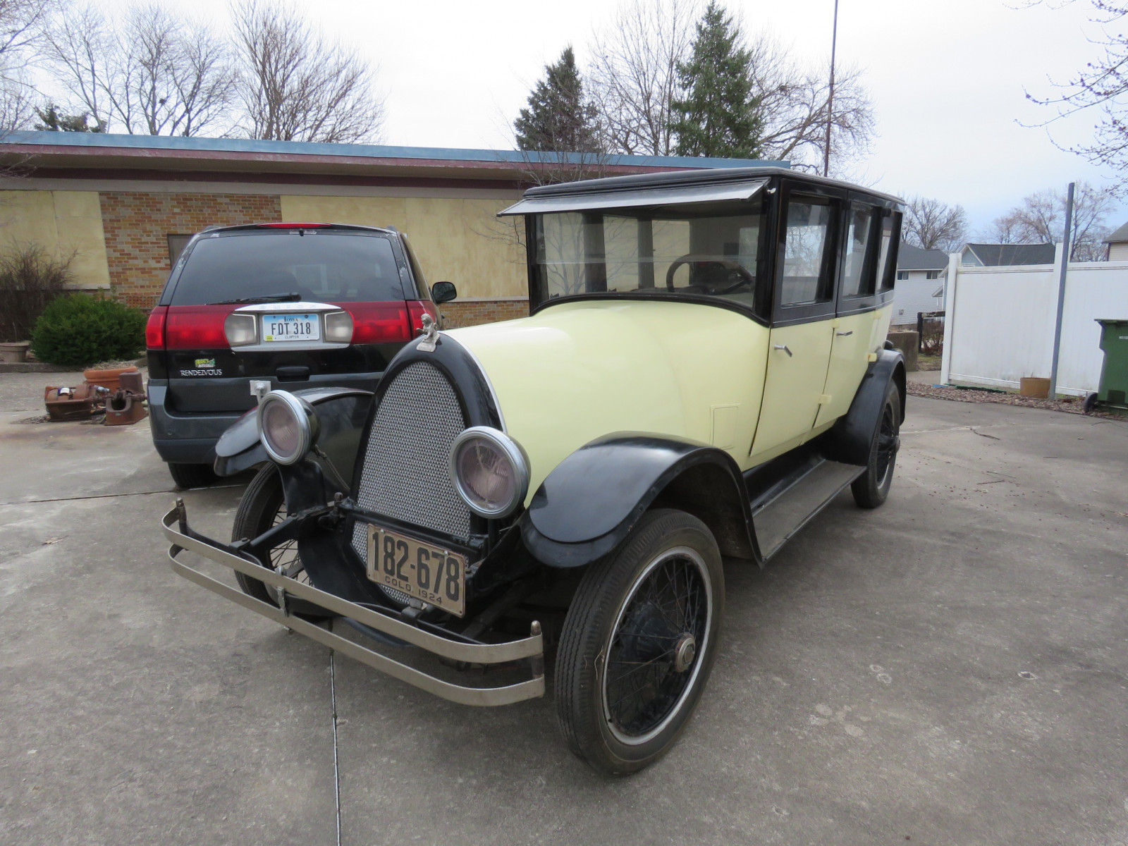 1924 Franklin 4dr Sedan - Image 4