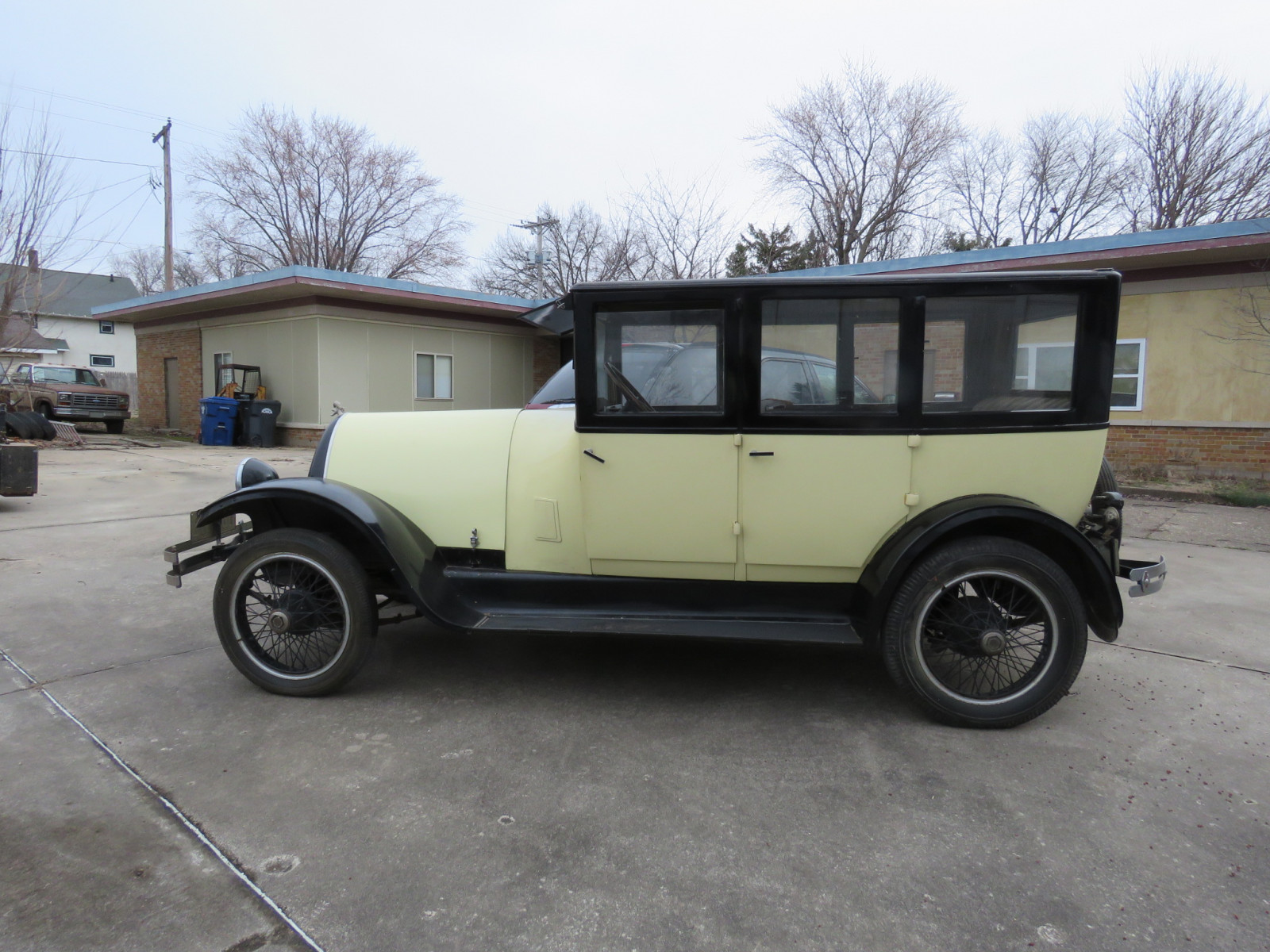 1924 Franklin 4dr Sedan - Image 6