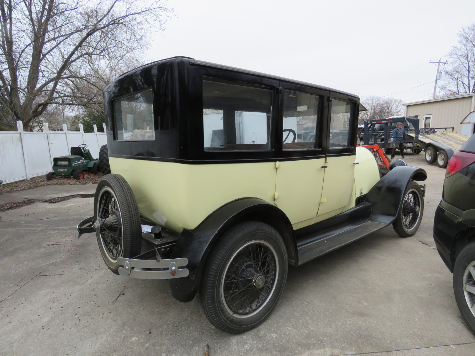 1924 Franklin 4dr Sedan - Image 9