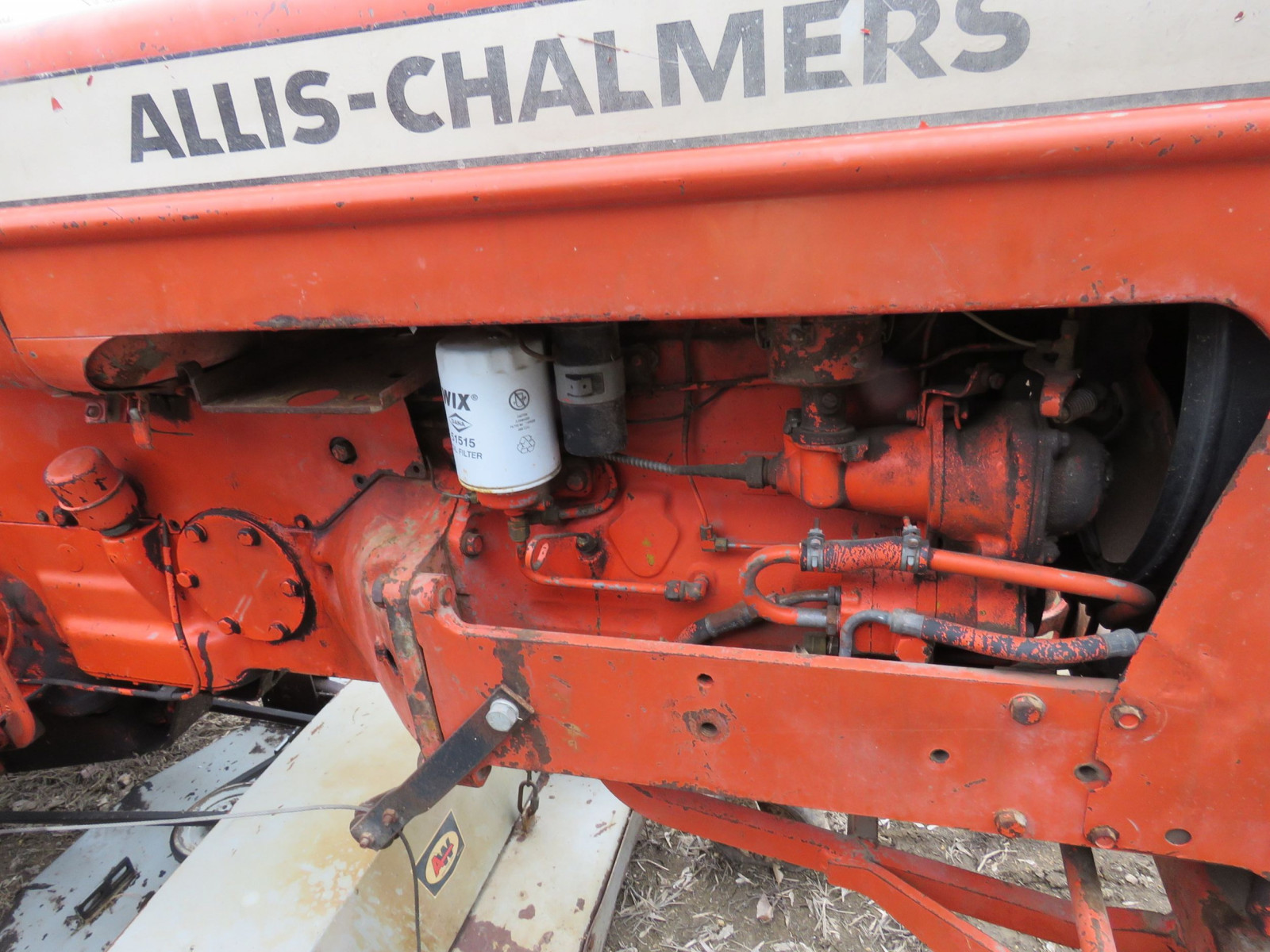 Allis Chalmers D15 with Mower - Image 10