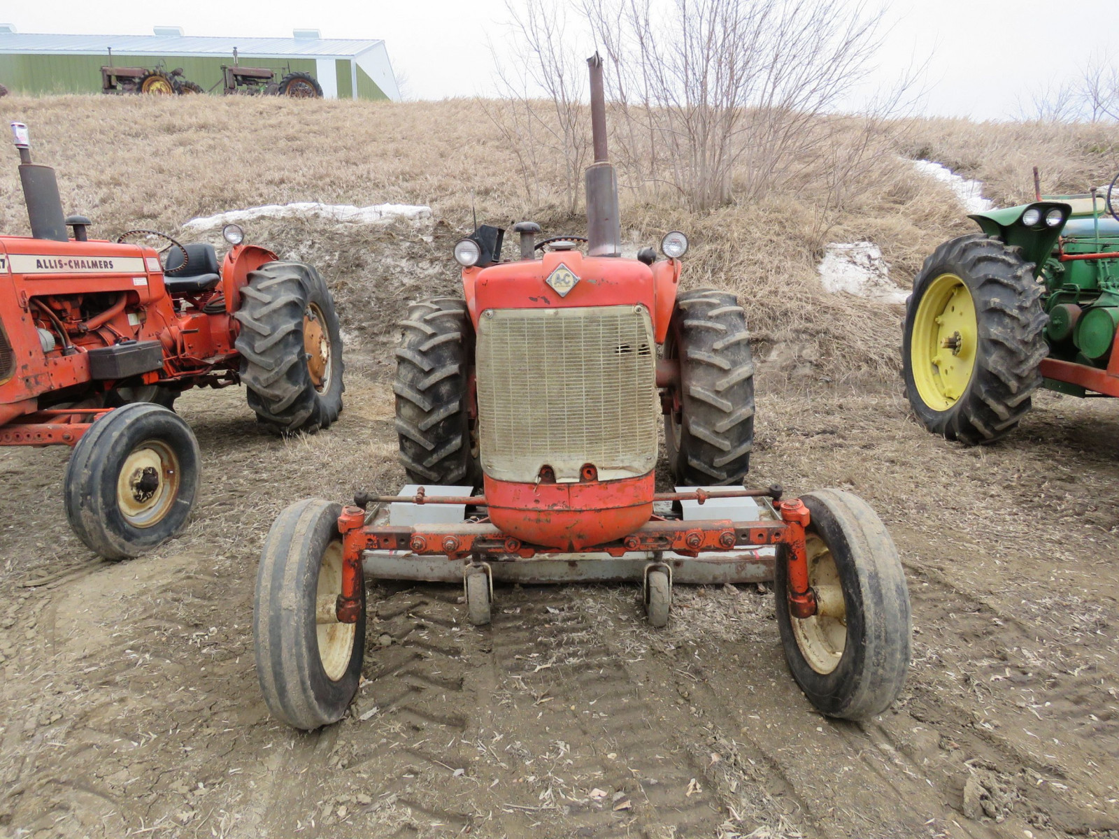 Allis Chalmers D15 with Mower - Image 2