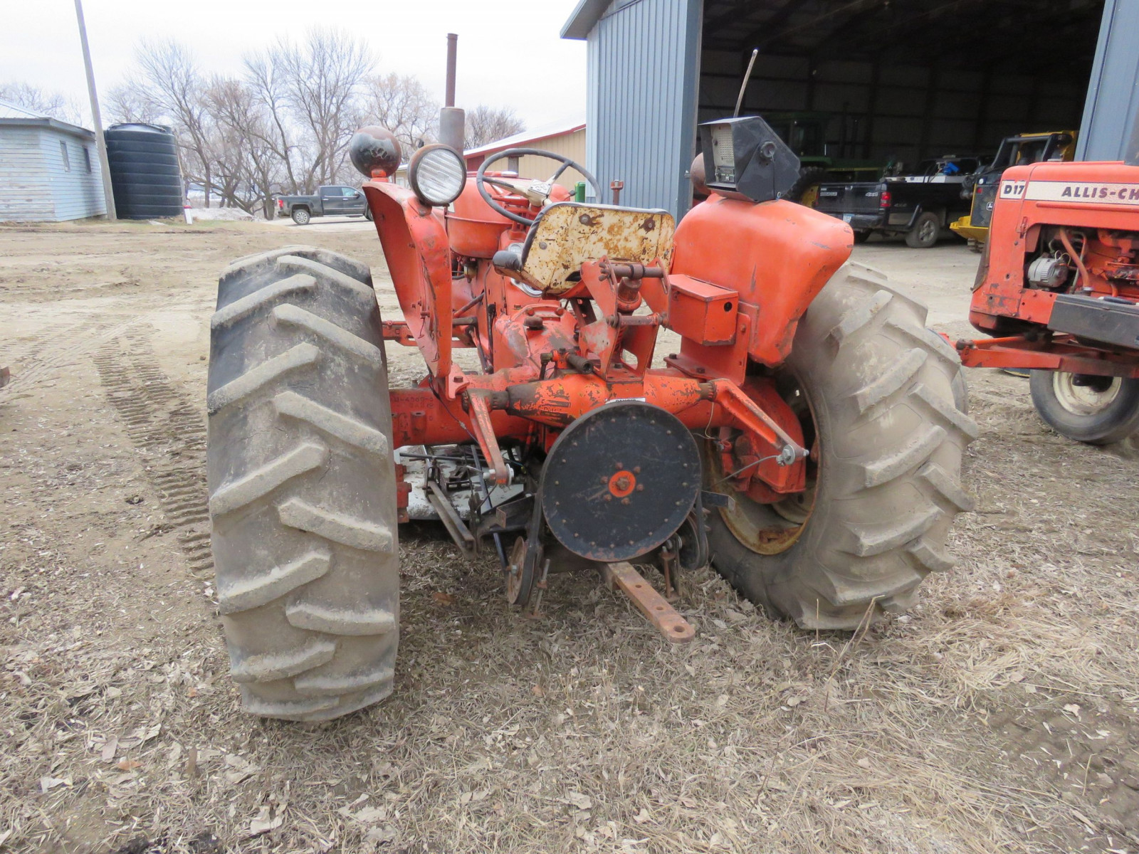 Allis Chalmers D15 with Mower - Image 6