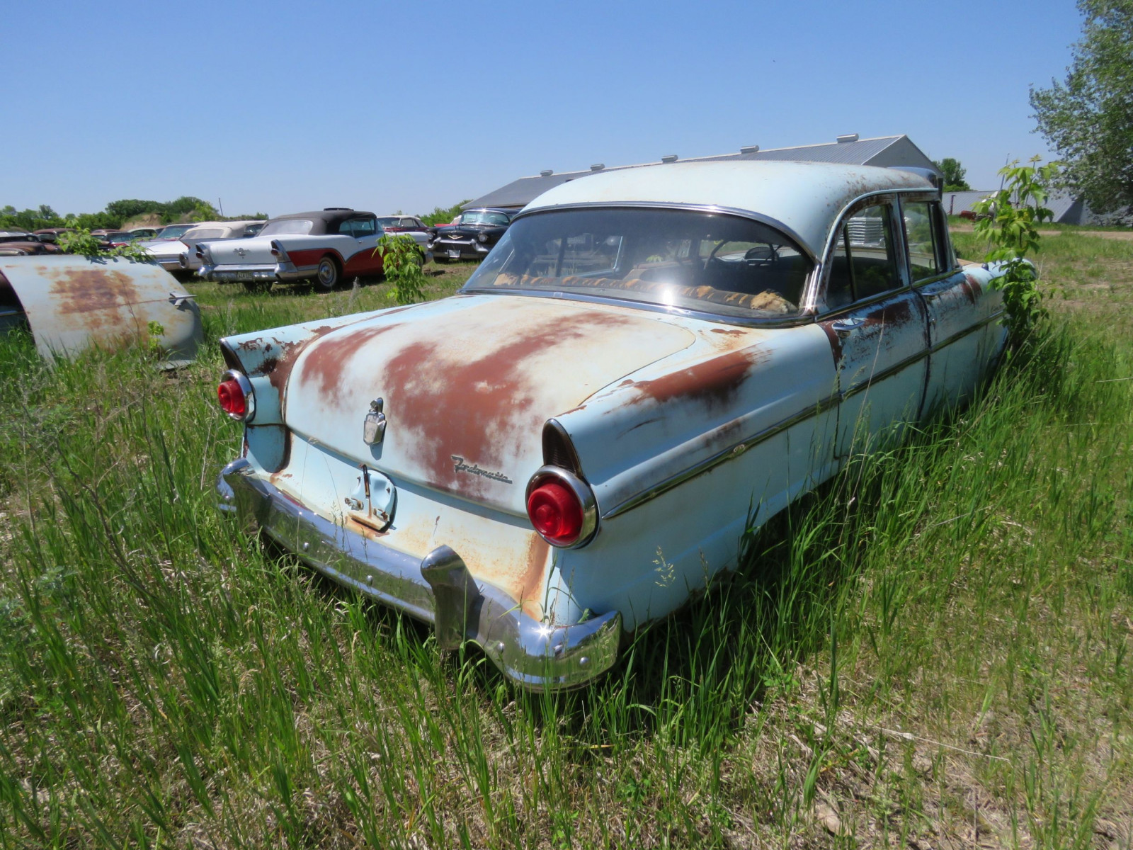1953 Ford Custom line 4dr Sedan for project ort parts - Image 3