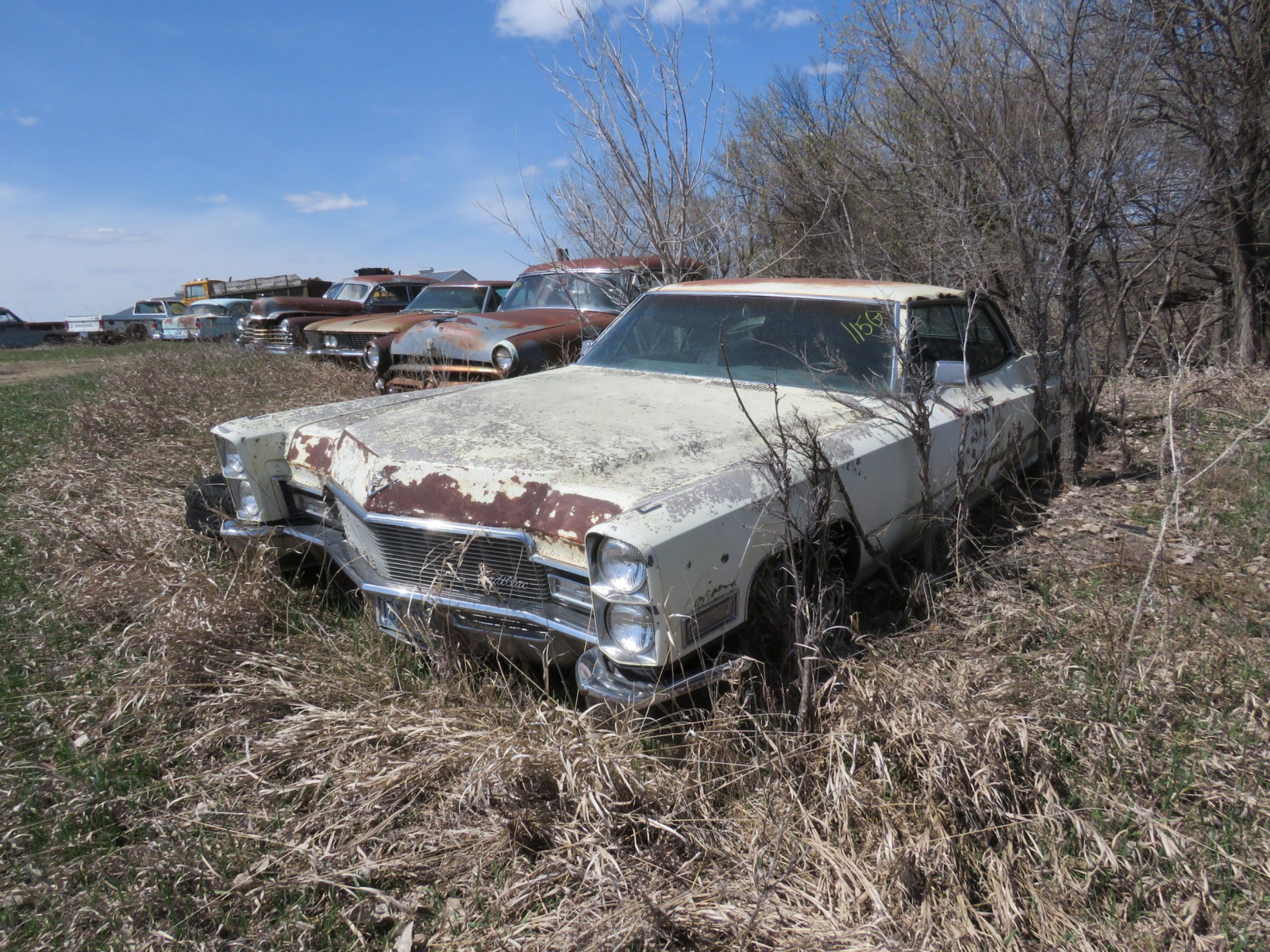 1965 Cadillac 4dr HT for Project or parts - Image 1