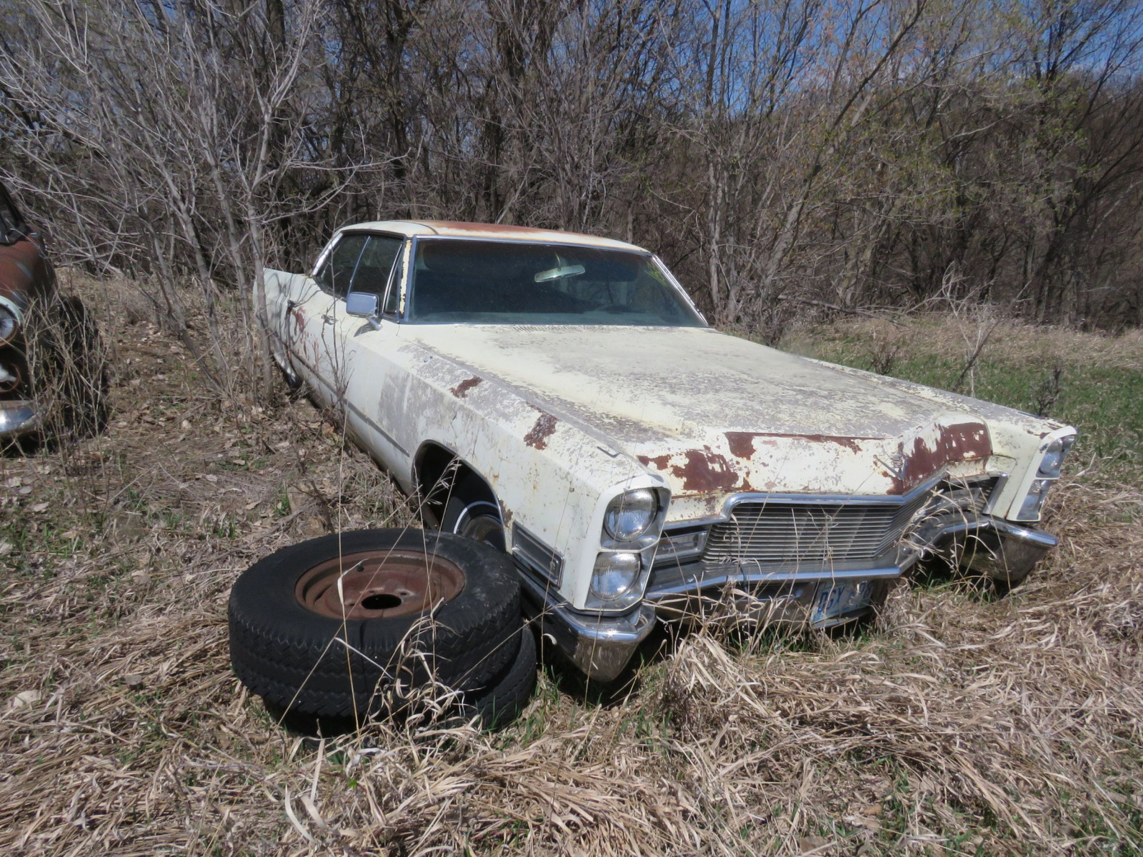 1965 Cadillac 4dr HT for Project or parts - Image 2