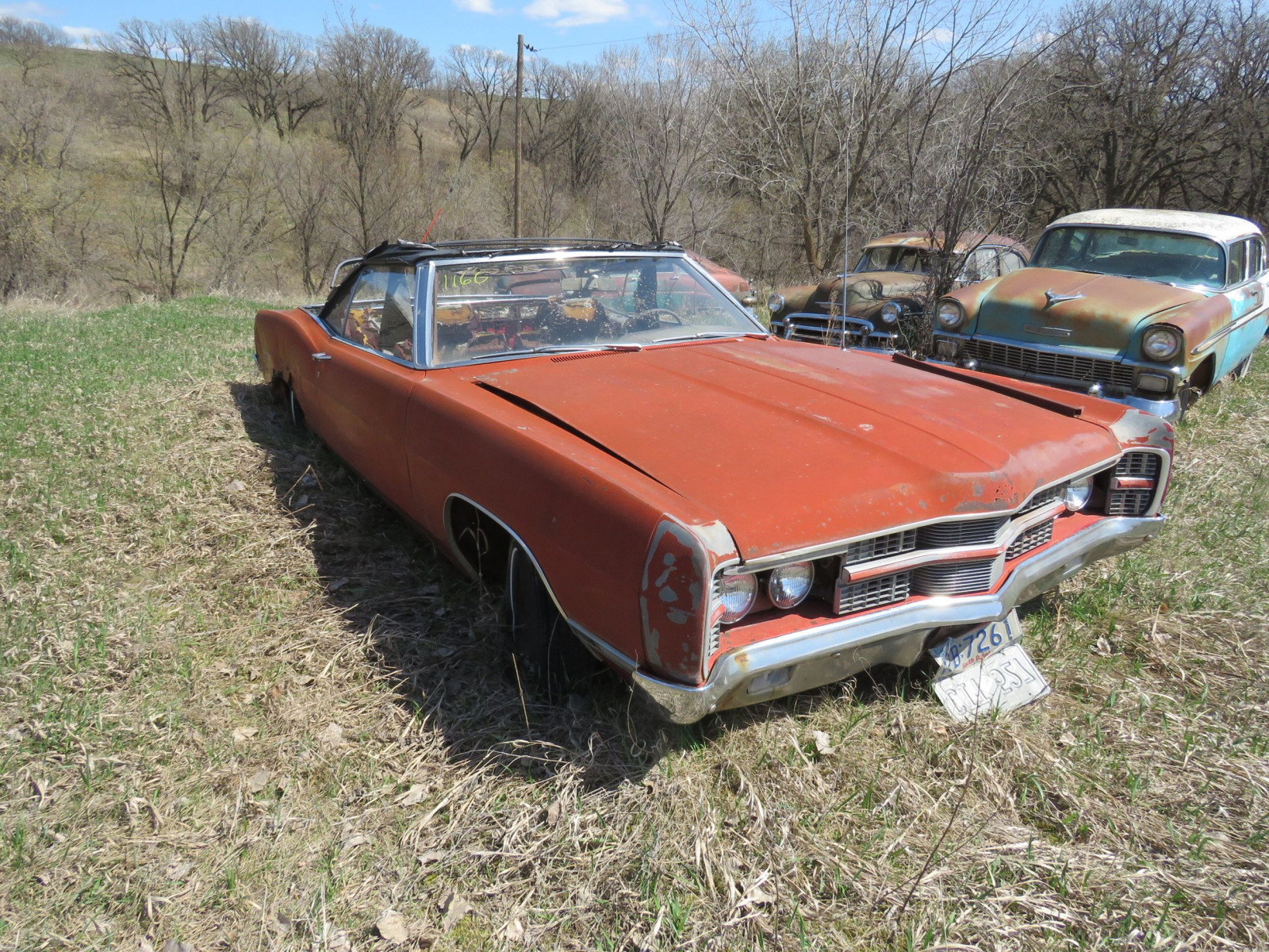 1969 Ford Convertible for Project and Parts - Image 1