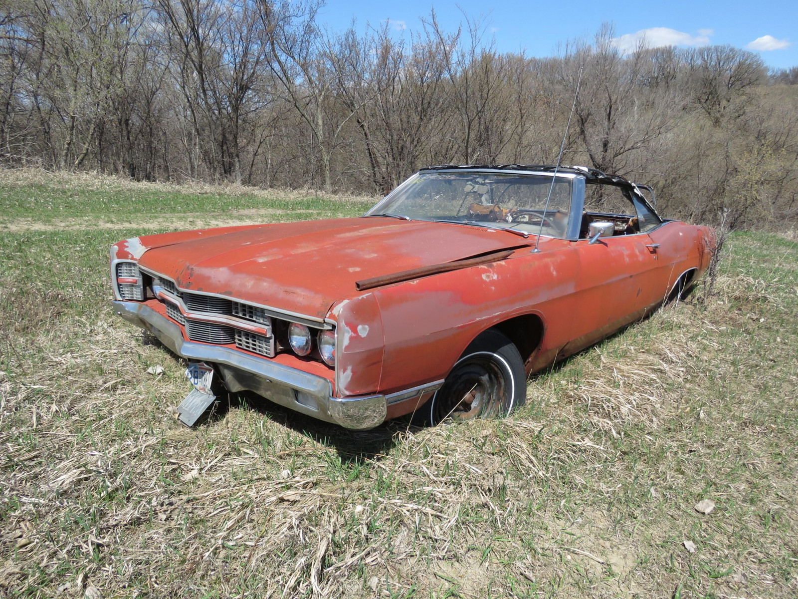 1969 Ford Convertible for Project and Parts - Image 2