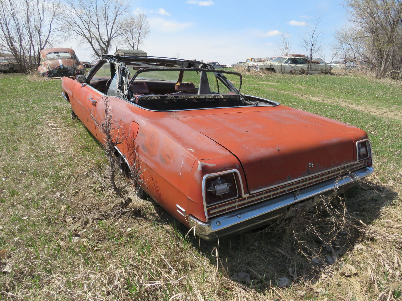 1969 Ford Convertible for Project and Parts - Image 3