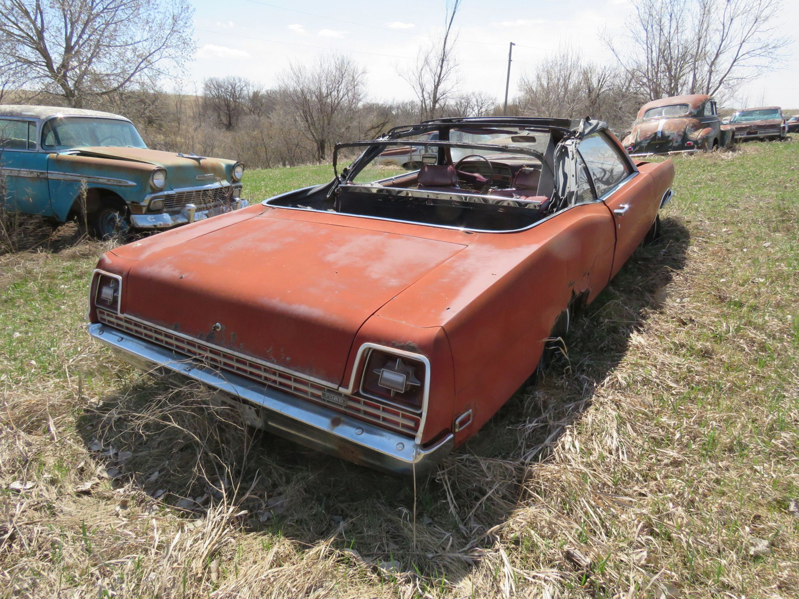 1969 Ford Convertible for Project and Parts - Image 4