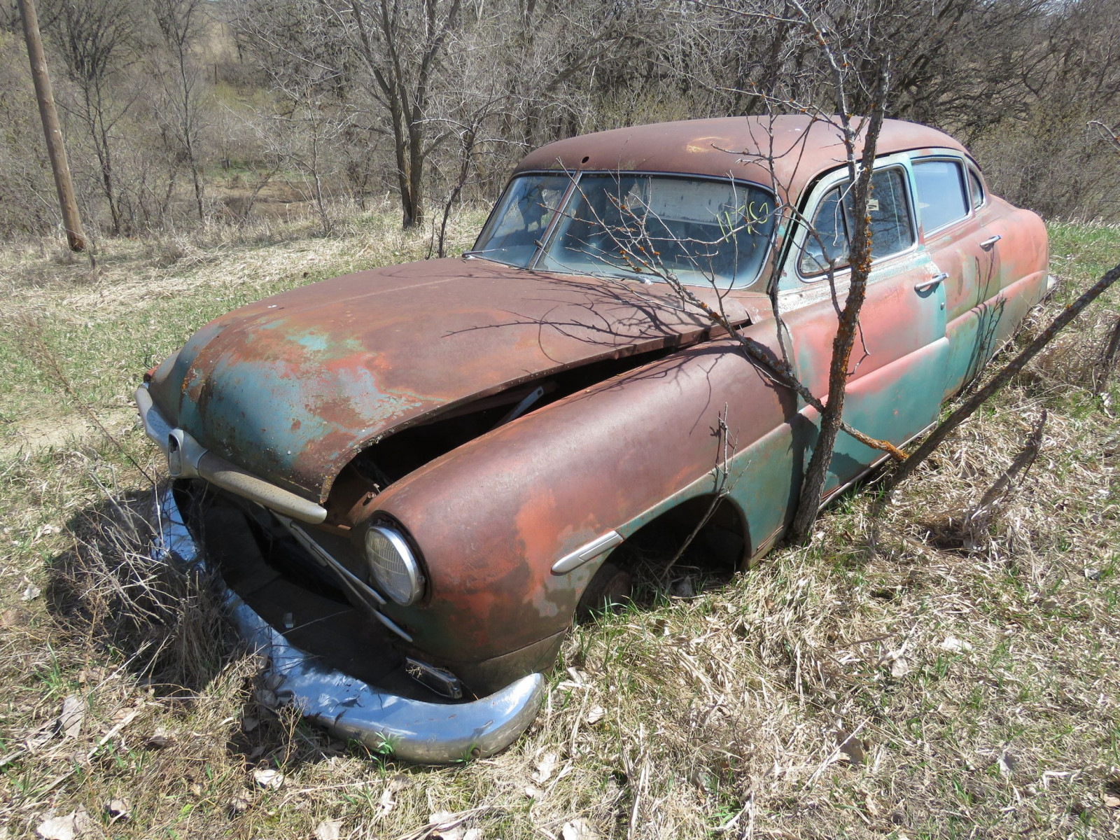 1949/50 Hudson 4dr Sedan for Project or Parts - Image 1