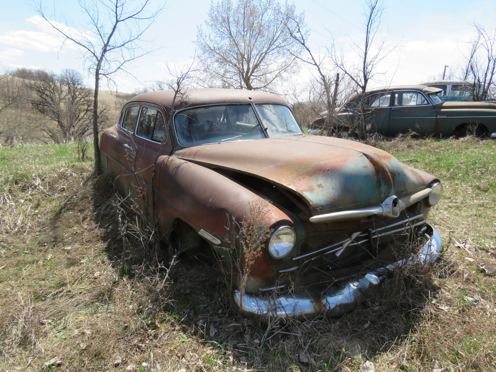 1949/50 Hudson 4dr Sedan for Project or Parts - Image 2