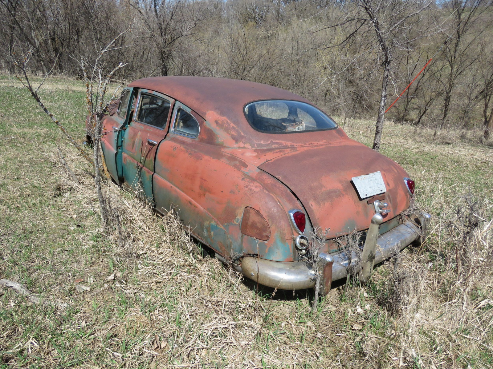 1949/50 Hudson 4dr Sedan for Project or Parts - Image 3