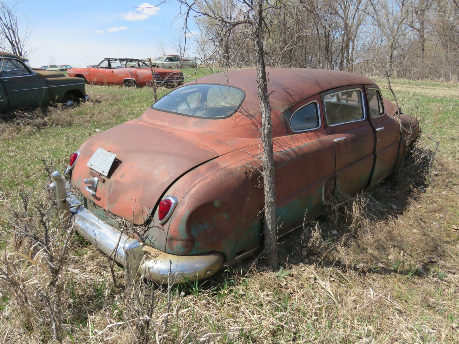 1949/50 Hudson 4dr Sedan for Project or Parts - Image 4