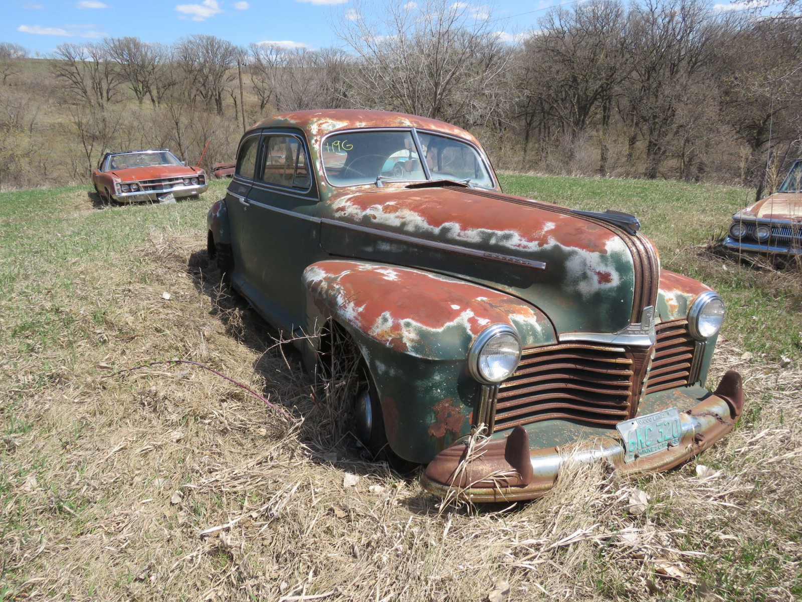 1940's Pontiac 2dr Sedan for Project or Parts - Image 1