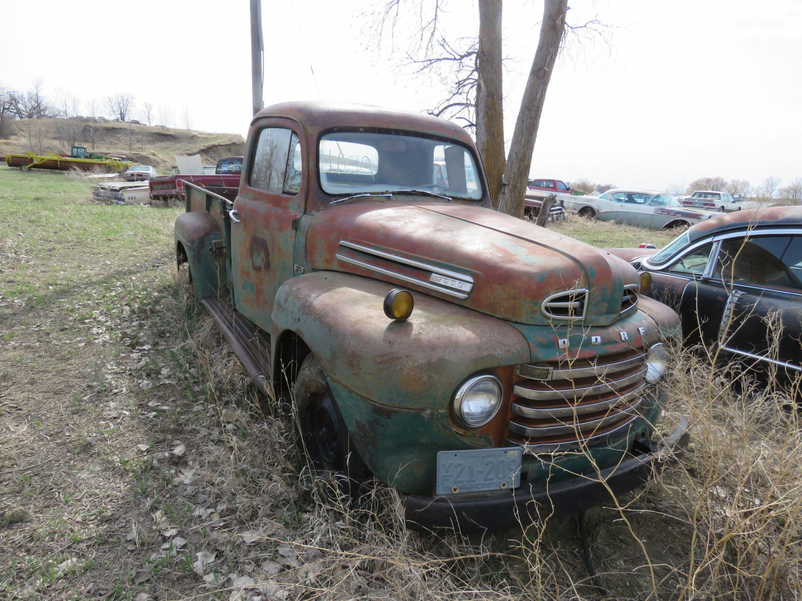1949 Ford F-3 Pickup for Rod or restore - Image 1