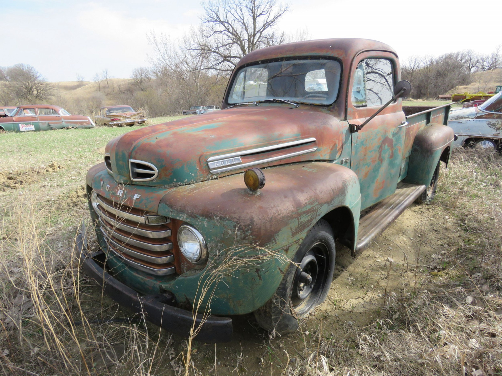 1949 Ford F-3 Pickup for Rod or restore - Image 2