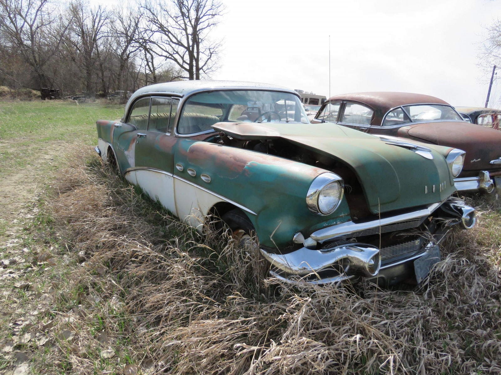 1956 Buick Special 4dr Hit 4C4046544 - Image 3
