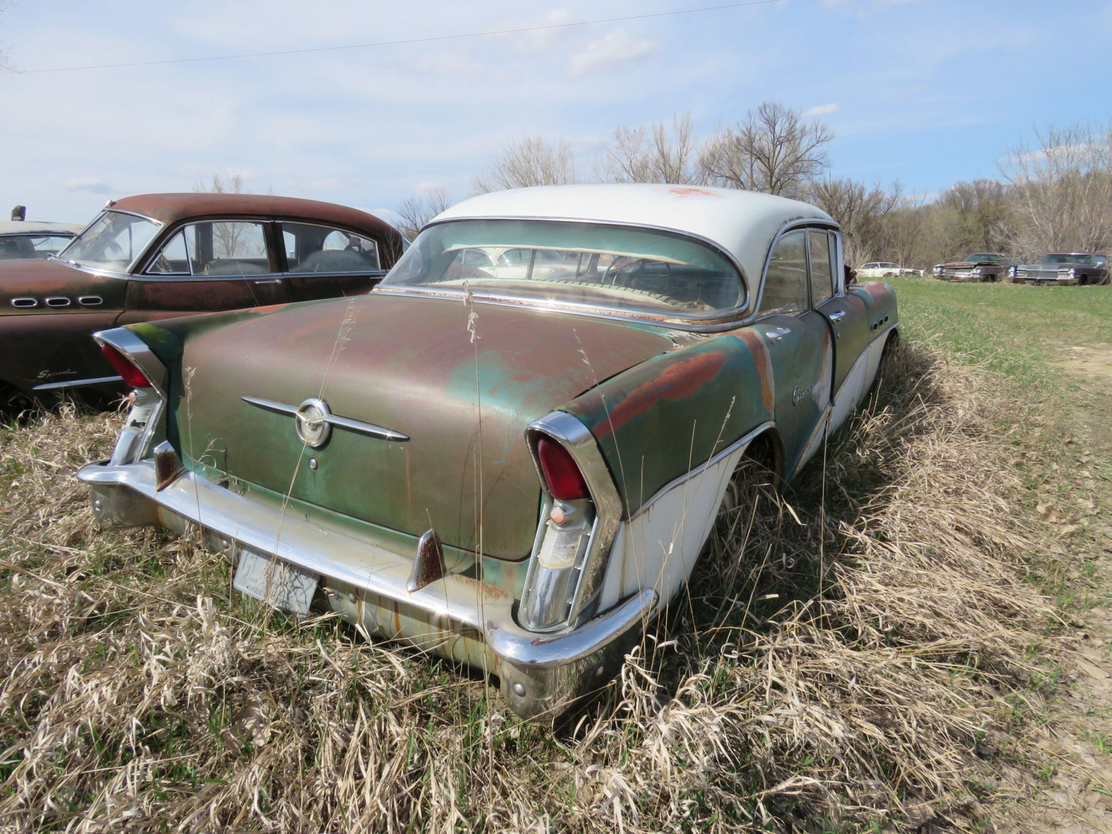 1956 Buick Special 4dr Hit 4C4046544 - Image 4