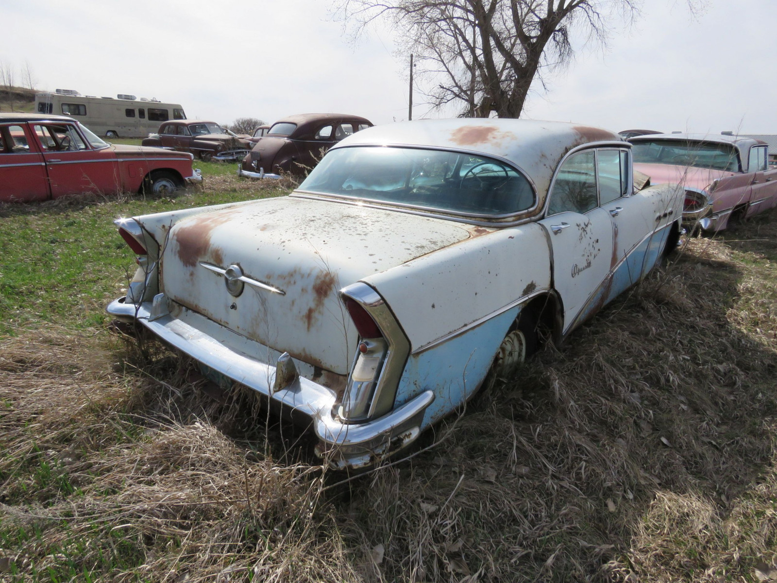 1956 Buick Special 4dr HT 4C1067684 - Image 3