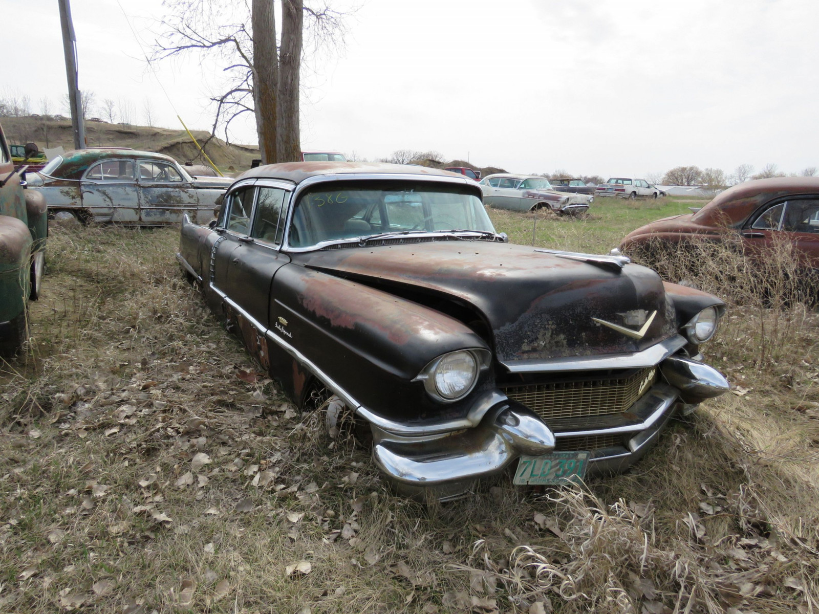 1956 Cadillac Fleetwood 4dr Sedan 5660119185 Sixty Special - Image 1