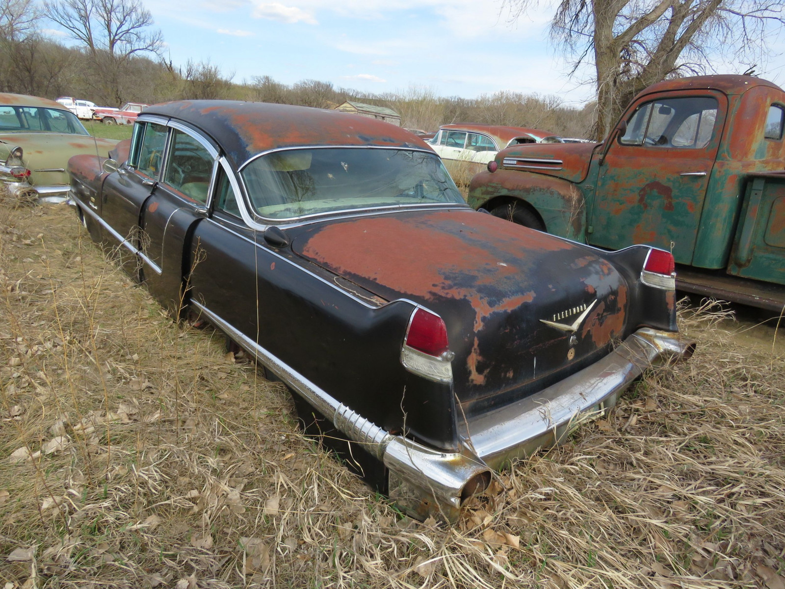 1956 Cadillac Fleetwood 4dr Sedan 5660119185 Sixty Special - Image 3