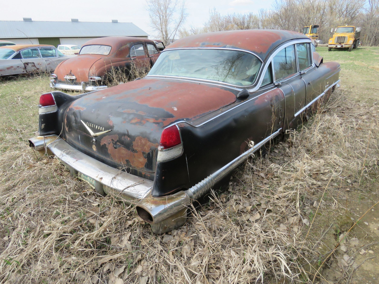 1956 Cadillac Fleetwood 4dr Sedan 5660119185 Sixty Special - Image 4