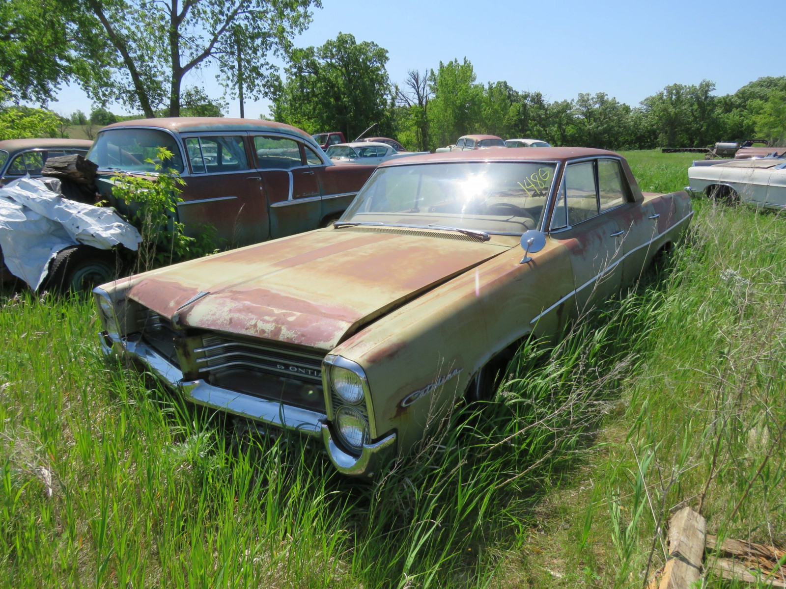 1964 Pontiac Catalina 4dr Sedan for Project or parts - Image 1