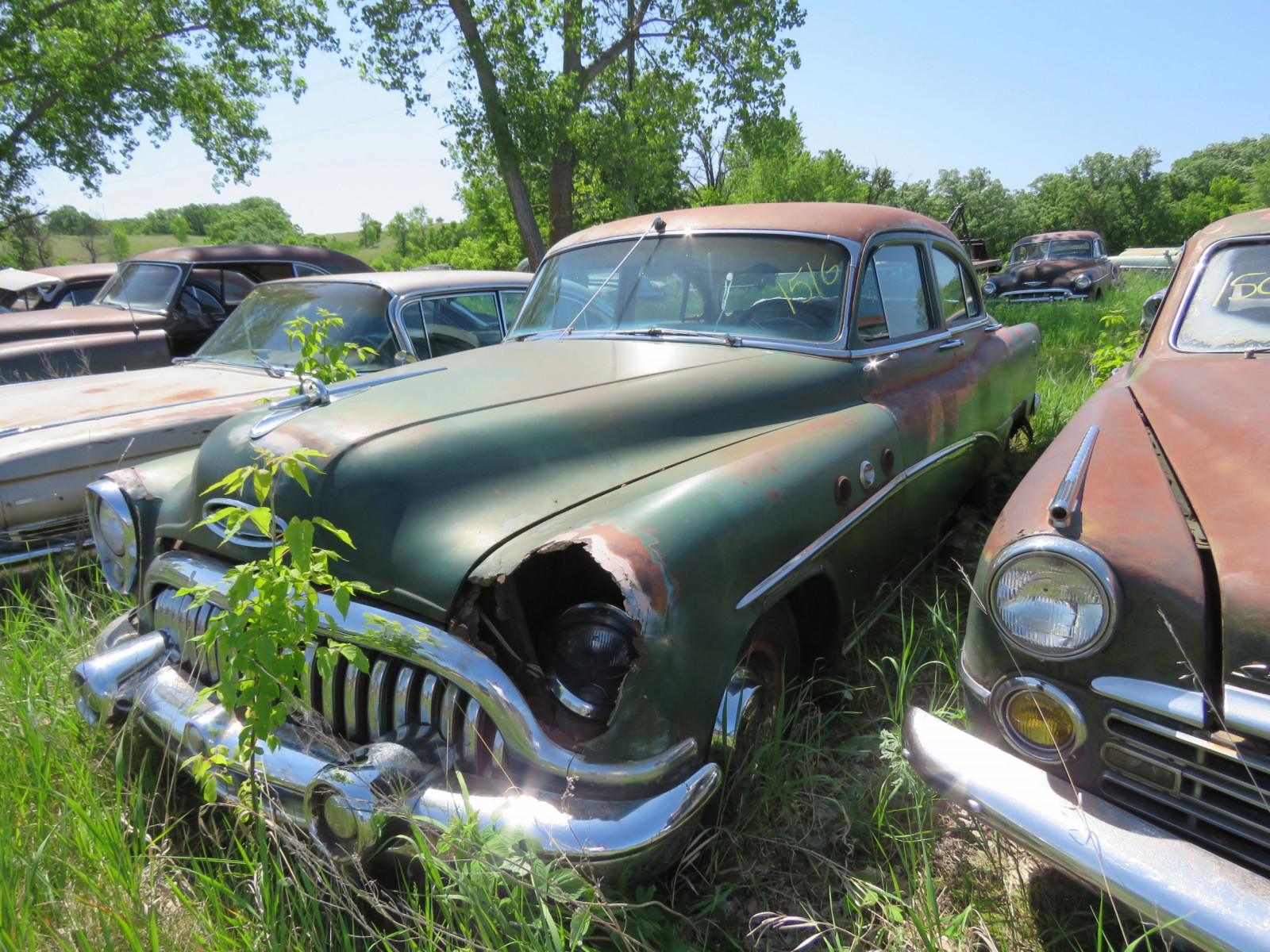 1953 Buick 8 4dr Sedan for Project or parts - Image 1