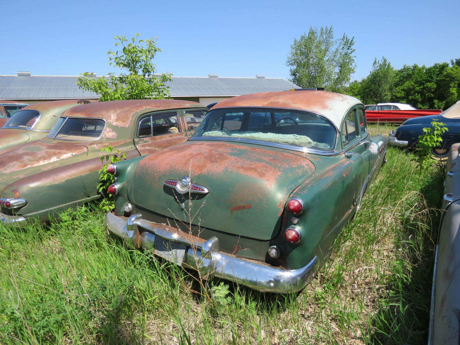 1953 Buick 8 4dr Sedan for Project or parts - Image 3