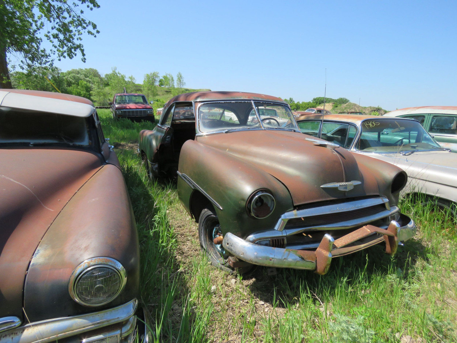 1949/50 Chevrolet Deluxe 2dr HT for parts - Image 2