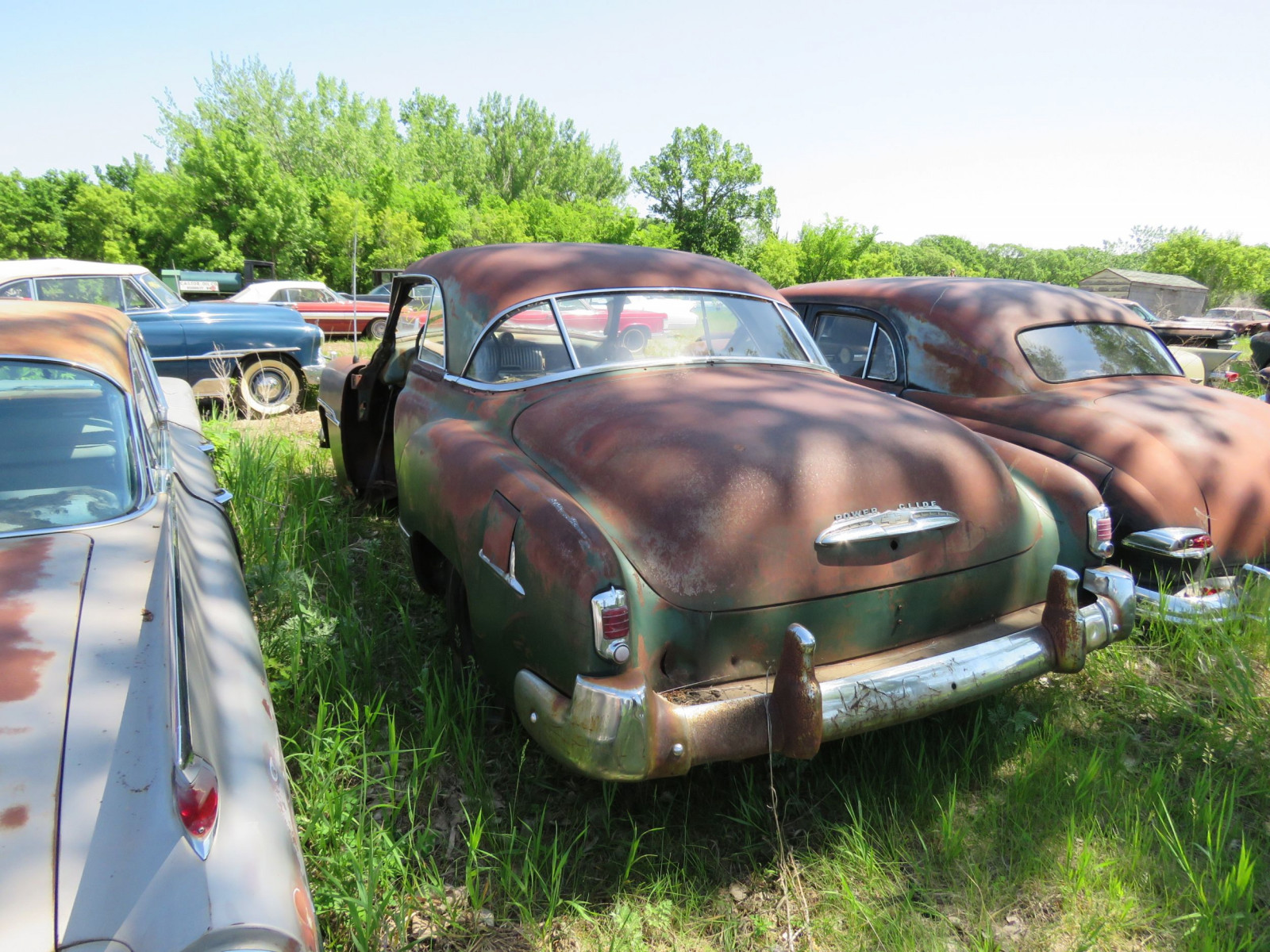1949/50 Chevrolet Deluxe 2dr HT for parts - Image 3