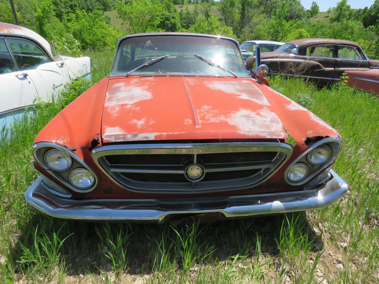 Chrysler 4dr Sedan for Rod or Restore or parts - Image 2